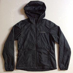 Columbia Sportswear Black Rain Jacket